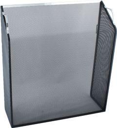 Noble Sloping Box; Alum Trim 665H 610W 205D