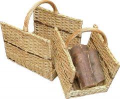 Set2 Open End Log Baskets 490L 390W 340H