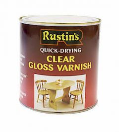Quick Dry Varnish Gloss Clear 500Ml