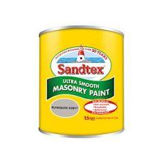 Sandtex Smooth Masonry Plym Grey 150Ml