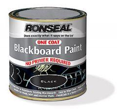 One Coat Blackboard Paint Black 250Ml
