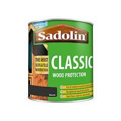 Sadolin Classic Ebony 1.0Lt