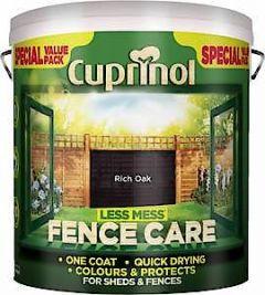 Cx Less Mess Fence Care Autumn Gold 6L
