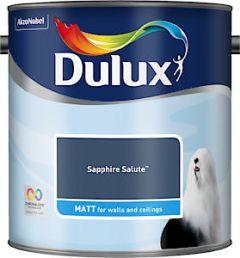 Dulux Matt Sapphire Salute 2.5L