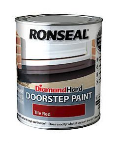 Ronseal D.Hard Doorstep Paint Blk 750Ml*