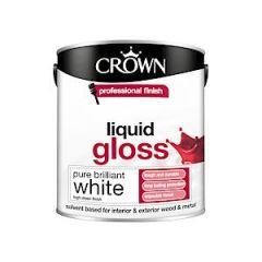 Crown Liquid Gloss - 2.5 Litre - Pbw