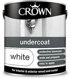 Crown Undercoat White 2.5L