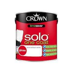 Crown Solo Gloss Pure Brilliant White 2.5L