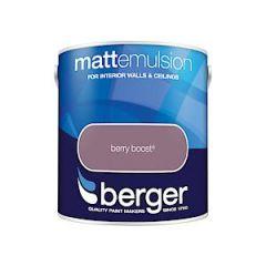 Berg Matt Emulsion Brry Boost 2.5L