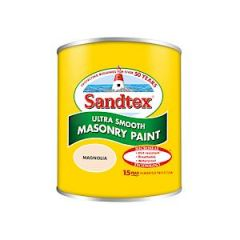 Sandtex Microseal Smooth Masonry - 150Ml - Magnolia