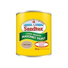 Sandtex Microseal Smooth Masonry - 150Ml - Mid Stone