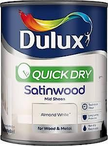 Du Quick Dry Satinwood White Cotton 750Ml