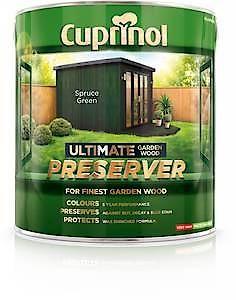 Ultimate Garden Wood Preserver Golden Oak 4L