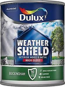 Dulux Weathershield Ext Gloss Pure Brilliant White 2.5L