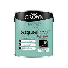 Cr Aquaflow Gloss       Bril White 2.5L
