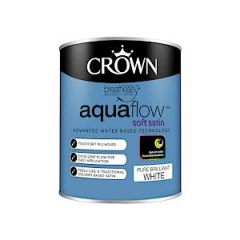 Cr Aquaflow Satin       Bril White 750Ml
