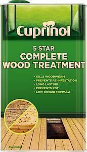 Cx 5 Star Wood Treatment (Wb) 5L