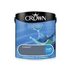 Crownr Matt Emulsion        Runaway    2.5L