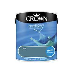 Crownr Matt Emulsion        Teal       2.5L