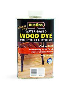 Qd Wood Dye White 250Ml