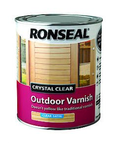 Cryst Clear Outdr Varnish Satin 250Ml