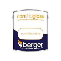 Berger Nd Gloss Pure Brilliant White 2.5L