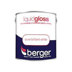 Berger Liquid Gloss - 2.5L - Bril White