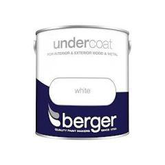 Berger Undercoat - 2.5L - White