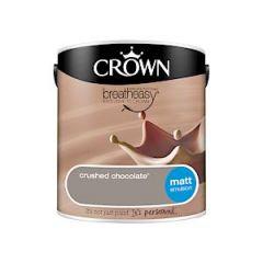 Crown Matt Crushed Chococlate 2.5L
