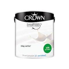 Silk Emulsion Clay White 2.5L