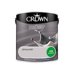 Silk Emulsion Grey Putty 2.5L