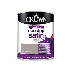 Crown Non Drip Satin Soft Shadow 750Ml