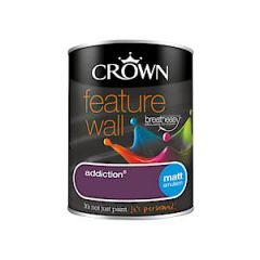 Crown Feature Wall Addiction 1.25L