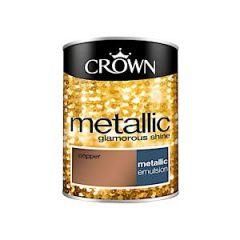 Crown Metallic- 1.25 Litre - Copper