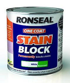Ronseal Oc Stain Blk White 2.5Lt