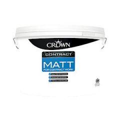 Crown Contract Matt Brillant White 10L