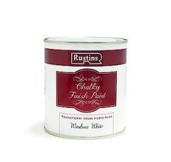 Quick Dry Chalky Finish Paint Windsor White 500Ml