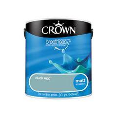 Crown Matt Duck Egg 2.5L