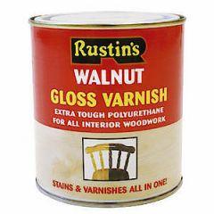 Poly Varnish Gloss Walnut 500Ml