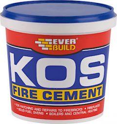 Kos Black Fire Cement 1Kg Black
