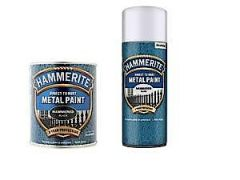 Hm Metal Paint Hammered White 750Ml