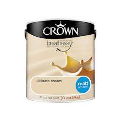 Crown Matt Emulsion 2.5Litre Del Crm