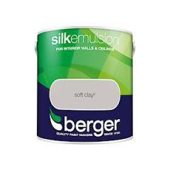 Berger Silk Emulsion Soft Clay 2.5 Ltr