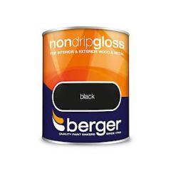 Berger Nd Gloss Black 750Ml
