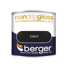 Berger Nd Gloss Black 250Ml