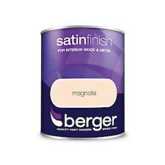 Berger Satin Sheen Magnolia 750Mls