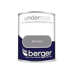 Berger Undercoat Lead Grey 750Mls