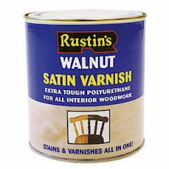 Poly Varnish Satin Walnut 250Ml
