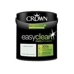 Crown Easyclean Matt Emulsion Botanical Extract 2.5L