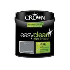 Crown Easyclean Matt Emulsion City Break 2.5Litre